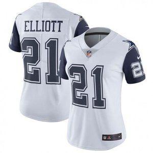 Women Cowboys Ezekiel Elliott Jersey 5